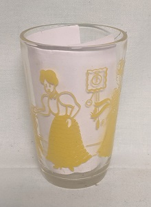 """Swanky Swig Yellow Bustling Betsy 3 3/4"""" Tall - Product Image"""