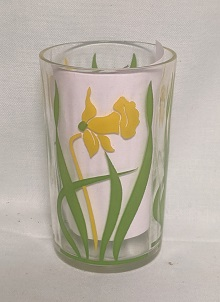 """Swanky Swig Yellow Posy Jonquil 3 1/2"""" Tall - Product Image"""