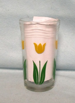 "Swanky Swig Yellow Tulip No.3,- 3 3/4"" Tall - Product Image"