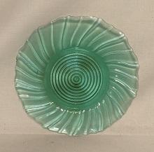 "Ultra Marine Swirl 6 1/2"" Sherbet Plate - Product Image"