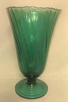 """Ultra Marine Swirl 8 1/2"""" Vase - Product Image"""