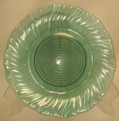 "Ultra Marine Swirl 9 1/4"" Dinner Plate - Product Image"