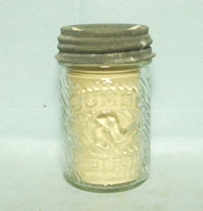 Vintage Jumbo Peanut Butter Jar w Elephant Head - Product Image
